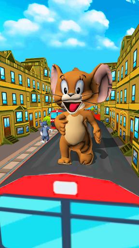 Cat and Jerry surf the subway Dash 6.5 APK MOD screenshots 1