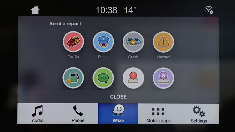 ford integrates waze for realtime info in hands free navigation. Black Bedroom Furniture Sets. Home Design Ideas