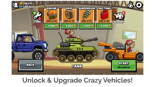 Hill Climb Racing 2 1.42.0 MOD APK (Unlimited Money) 2