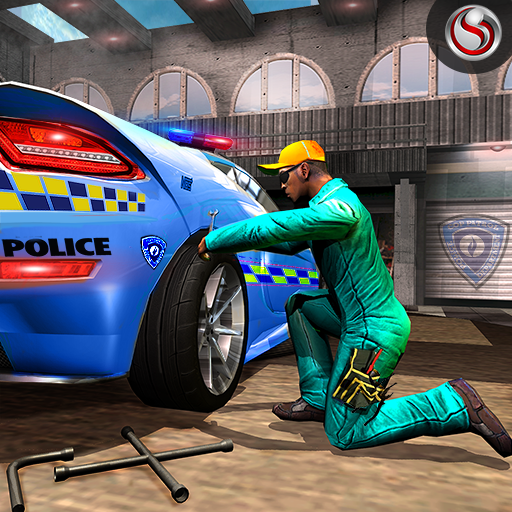 Police Auto Mechanic Workshop