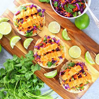 Bang Bang Fish Tacos.