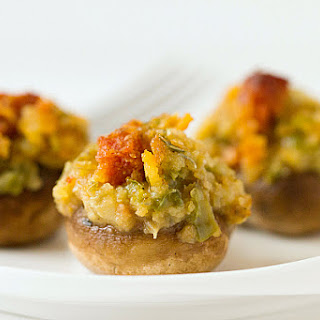 Mrs. Waterman's Stuffed Mushrooms