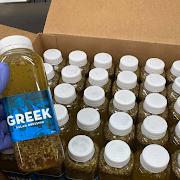 Bottle of Greek Dressing