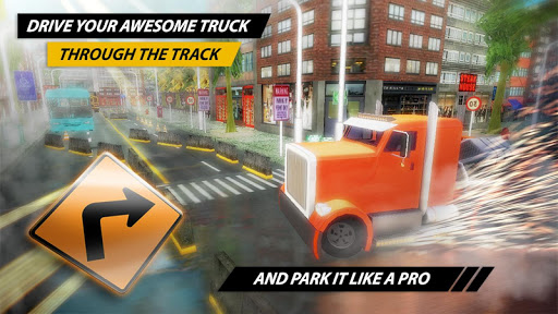 Grand Trucks Race Parking Pro