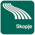 Skopje Map offline icon