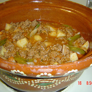 Authentic Mexican Recipe 'Picadillo' Ground Beef