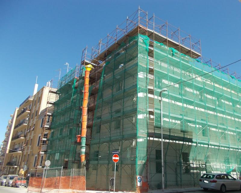 edificio in costruzione di Pretoriano