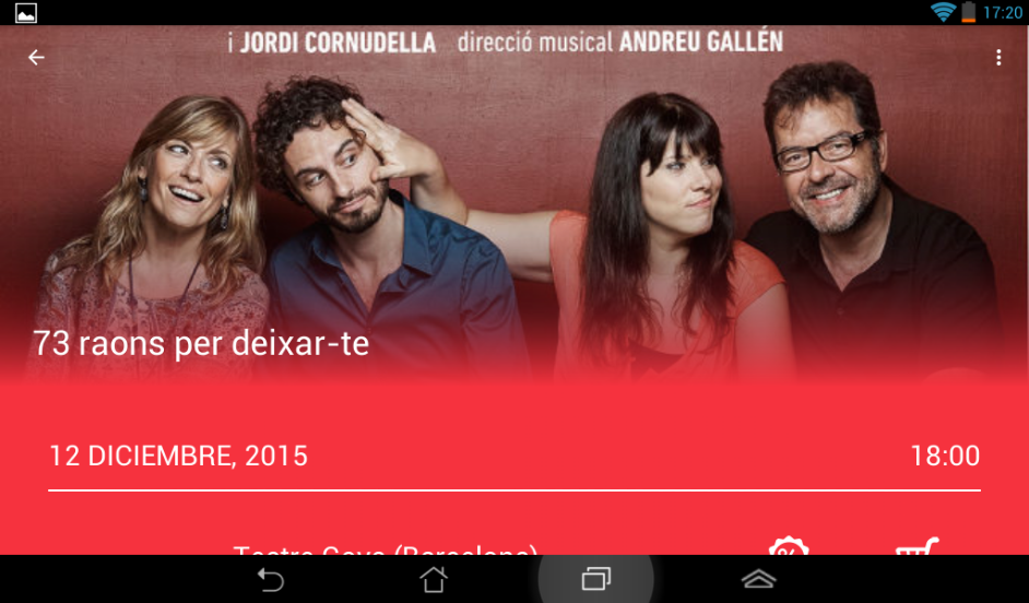 Teatro Accesible- screenshot