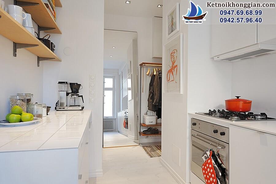 thiết kế căn hộ nhỏ bài bản, đẹp mắt