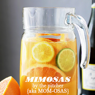 Mimosa Pitcher Cocktail