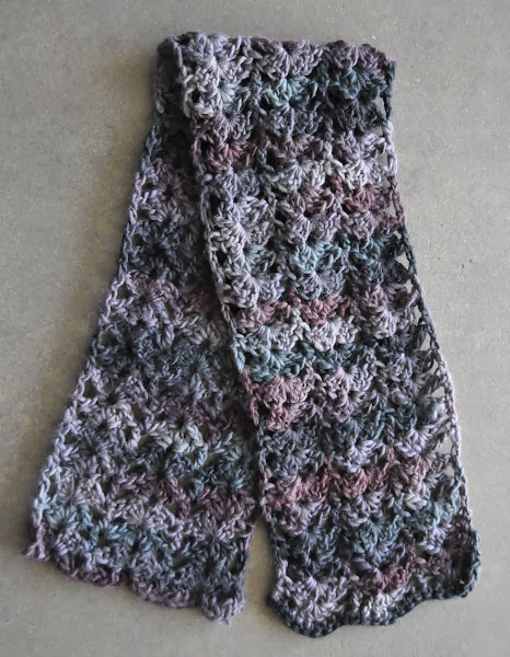 Photo: Chunky Mochi - crocheted chunky scarf