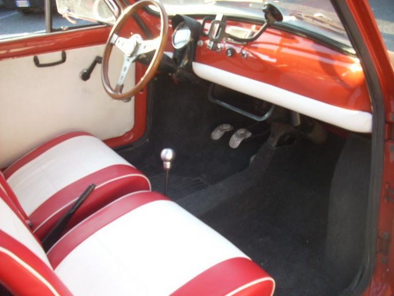 Fiat 500 R Hire Roma