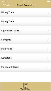 Explore Pisgah App- screenshot thumbnail
