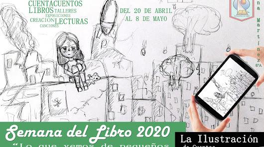 El CEIP Las Lomas celebra una Semana del Libro virtual