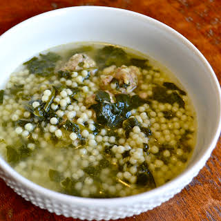 """FAVORITE"" ITALIAN WEDDING SOUP."