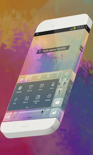 玩免費個人化APP|下載紫色顏料 TouchPal app不用錢|硬是要APP