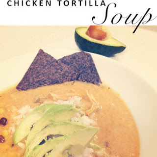 Chicken Tortilla Soup {Clean-Eating}