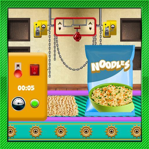Noodle Maker Factory Simulator: Instant Snack Game