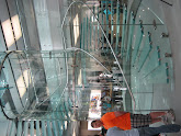 Photo: New store features a 3-story glass staircase