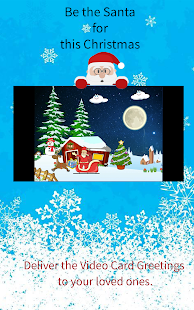 Christmas Greetings Video Card - náhled