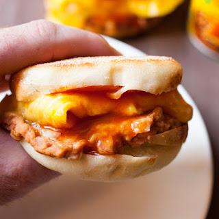 Enchilada Breakfast Sandwich.