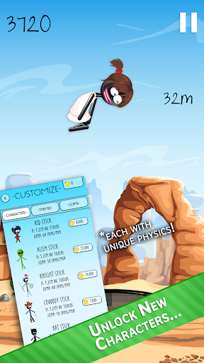 Stickman Trampoline FREE Backflip Jump Flip Master modavailable screenshots 3