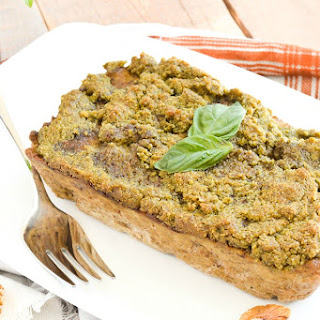 Walnut Pesto Chicken Meatloaf