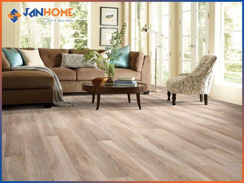 Biệt thự nên sử dụng tấm ván sàn gỗ khổ dài
