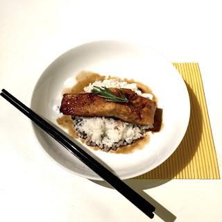 46 Salmon Teriyaki