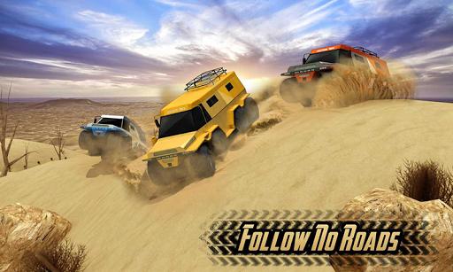 Offroad 8 Wheeler Russian Truck Racing Outlaws 3D 1.2 Mod screenshots 1