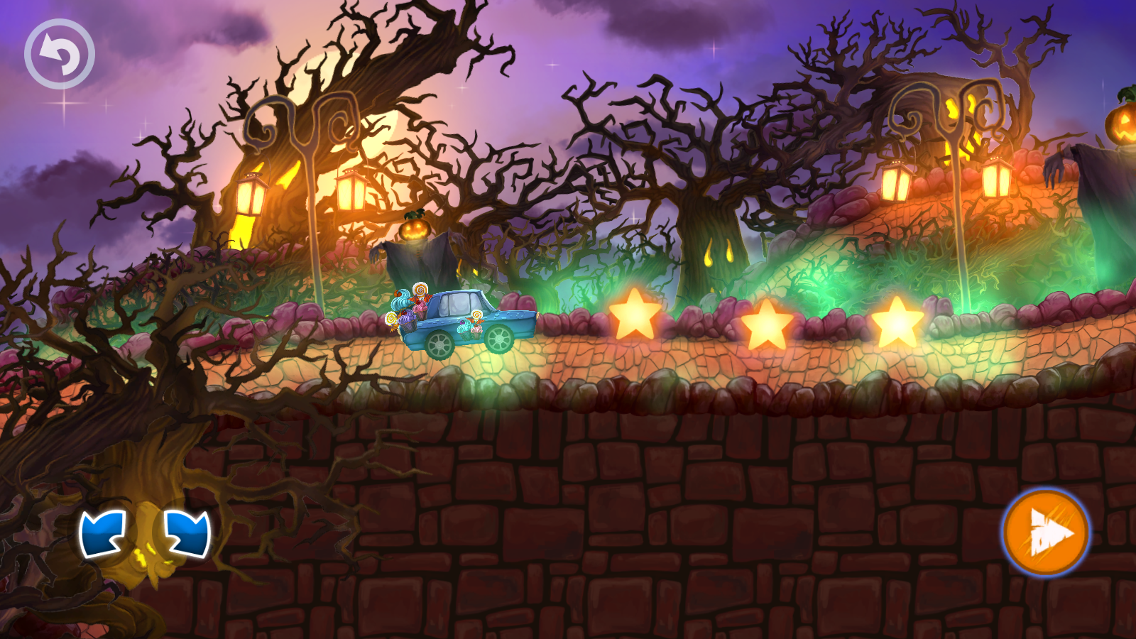 halloween cars monster race android apps on google play