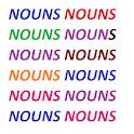NOUNS icon