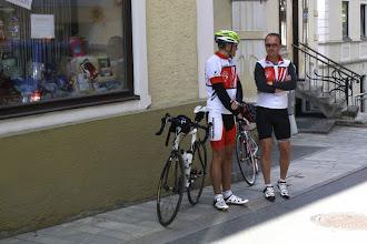 Photo: TAG 4   Teambesprechung / Motivation vor dem Start - 7.57 Uhr