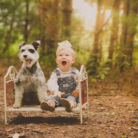 mans best friend by Traci Hartman Gassen - Babies & Children Child Portraits ( child, pet, childhood, dog, people,  )
