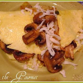 Mushroom & Onion Omelet