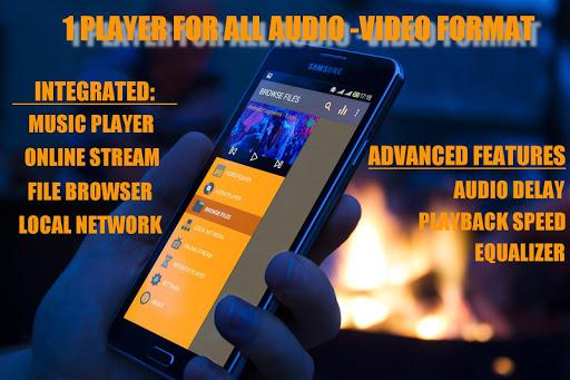 すべてのフォーマットのビデオプレーヤー Video Play