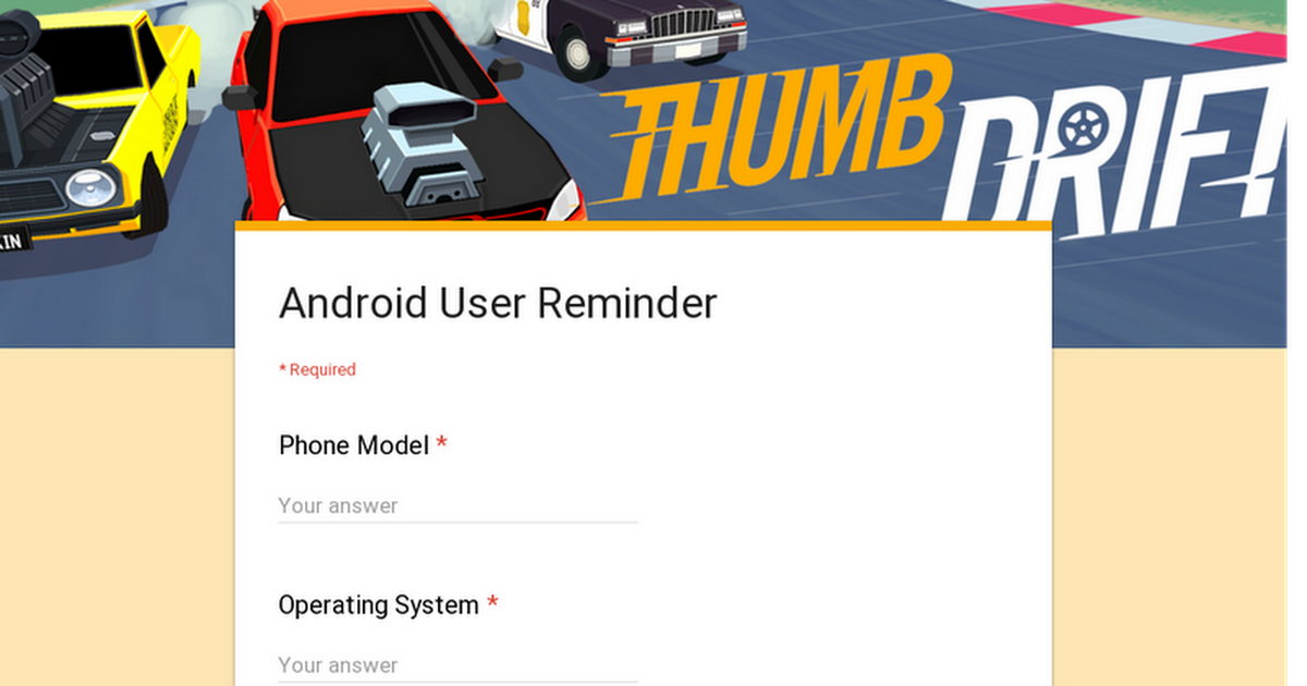 Android User Reminder