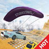 Overtime Rumble: CAR PARAGLIDER