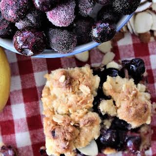 Lemon and Blueberry Bars.
