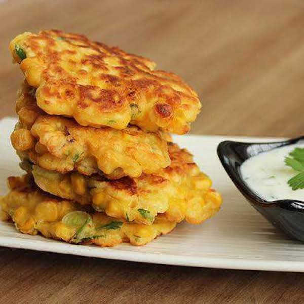 Sweetcorn Fritters Sides Recipe
