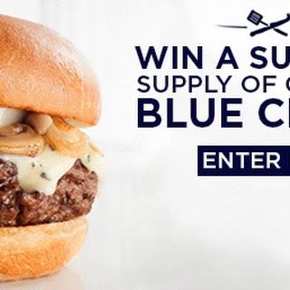 Buffalo Chicken & Blue Cheese Waffle Club Sliders #BlueTuesday