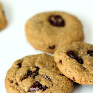 Salted Oatmeal Dark Chocolate Chunk Cookies (gluten free!)
