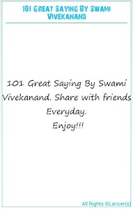 101 Great Saying By Vivekanand screenshot 6