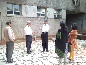Photo: CFB meet at Asia Plateau, Panchgani. Mr. Vivek Sawant, MD - MKCL interacting with the invitees.