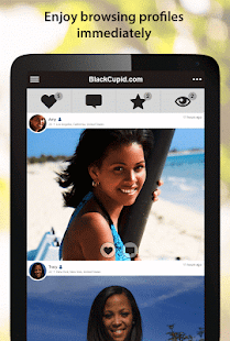 BlackCupid - Black Dating App- screenshot thumbnail