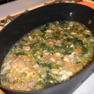 Mom's and My Italian Wedding Soup