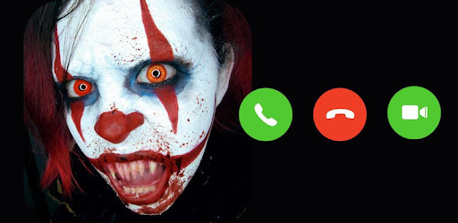 Video Call Scary Clown app (apk) free download for Android/PC/Windows screenshot