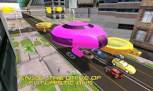 Gyroscopic Bus Futuristic Public Transport Sim - náhled