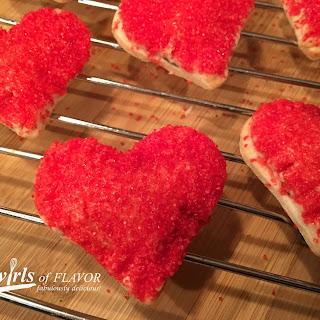 Nutella Pie Crust Hearts.