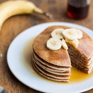 Naturally Sweetened Spelt Pancakes.